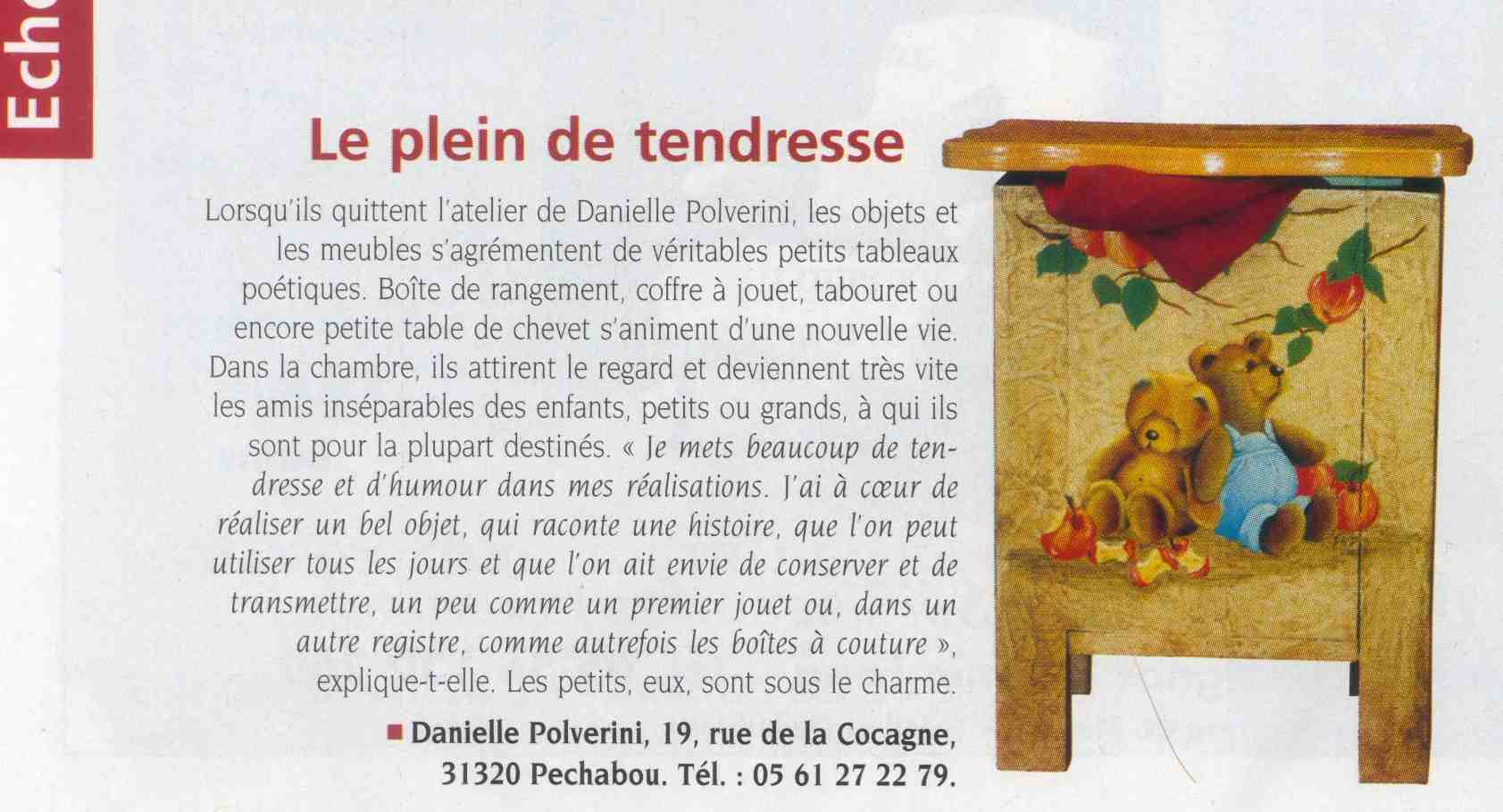 Article dans le n° de nov-dec 2033